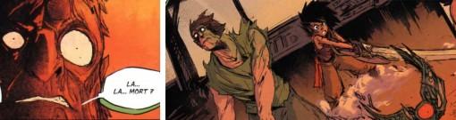 Nicien retrouve sa liberté et le Docteur Kralamour redevient une simple ceinture inerte