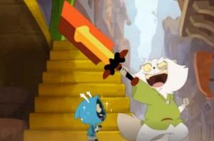 Kerubim raconte l'histoire de l'épée Goultard