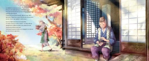 Yûjirô trouve l'oiseau Kotori