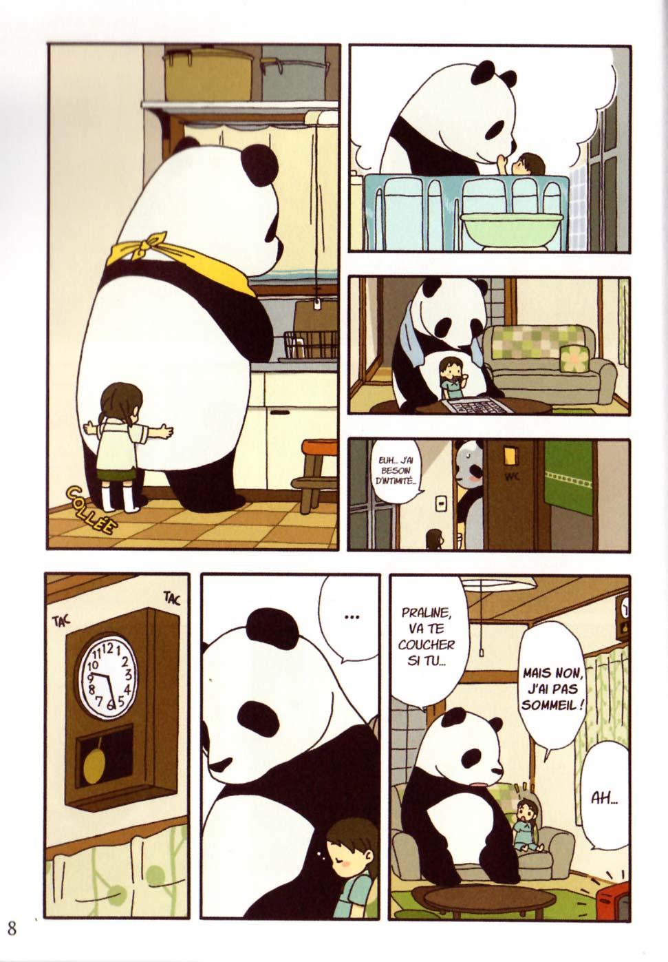 Page 4 du tome 1 de Pan'Pan Panda