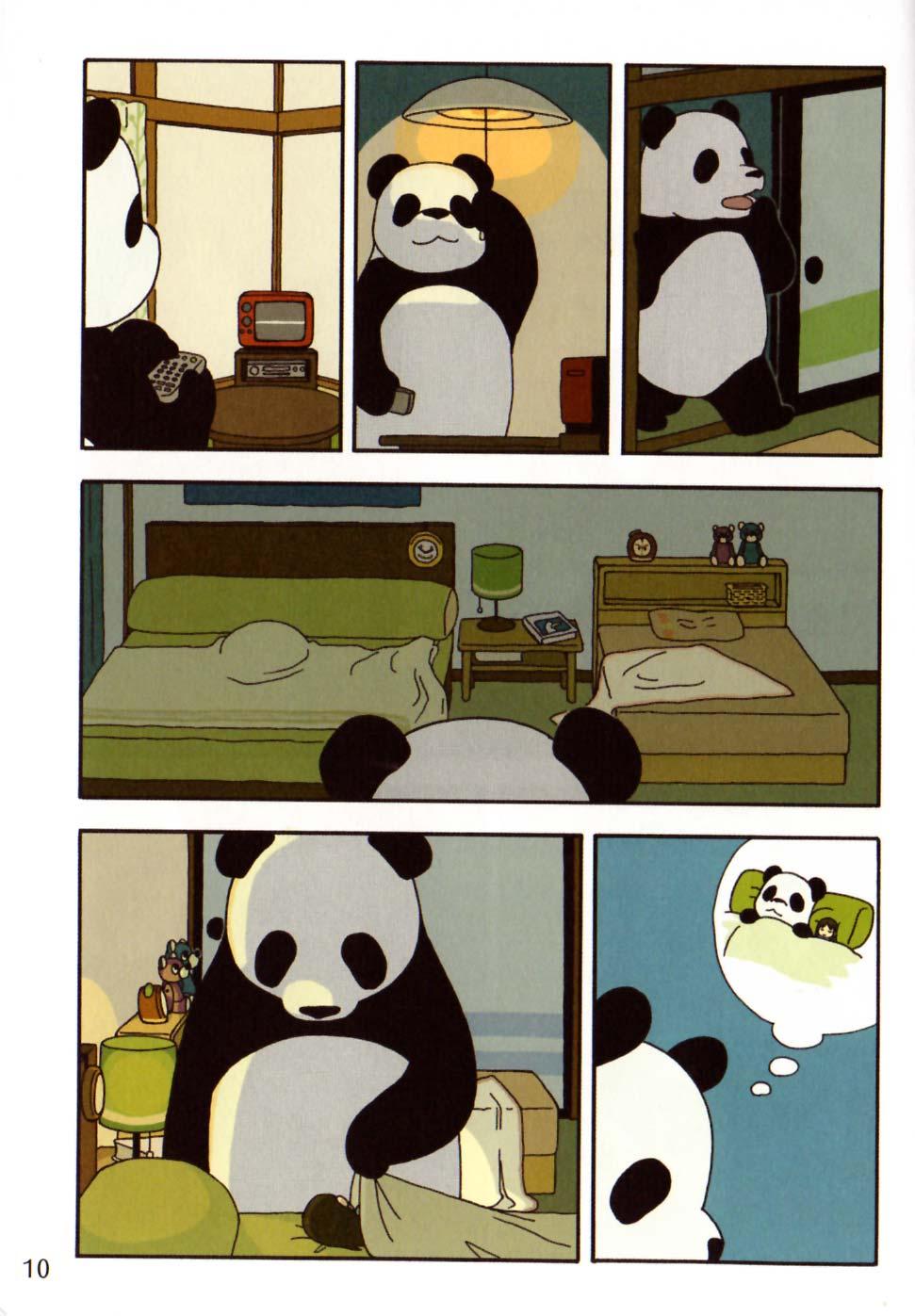 Page 6 du tome 1 de Pan'Pan Panda