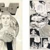 Dessins d'Osamu Tezuka à l'occasion de l'exposition à la galerie Barbie et Mathon