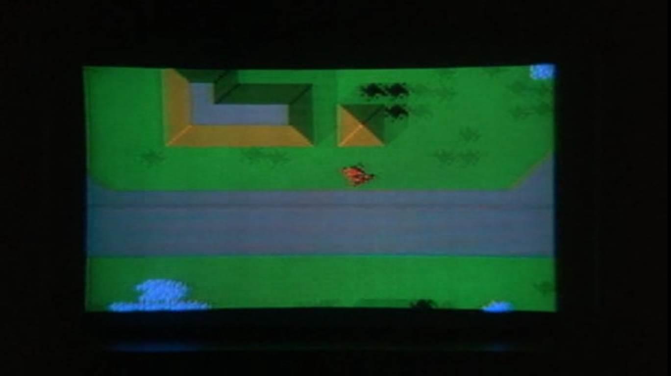 Un jeu vidéo dans K.I.T.T.