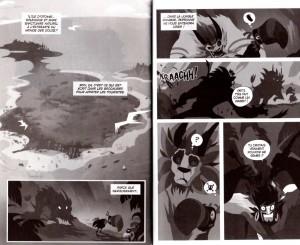 Page 2 et 3 du Tome 11 de Dofus Monster