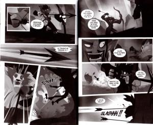 Page 4 et 5 du Tome 11 de Dofus Monster