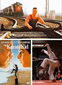 JC Van Damme et Karate Kid