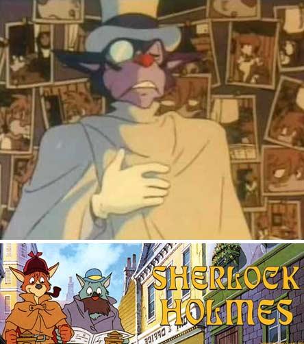 Moriarty dans Sherlock Holmes de Miyazaki