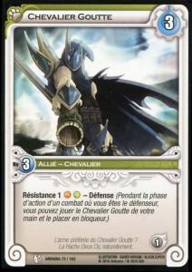 Chevalier Goutte carte Wakfu TCG