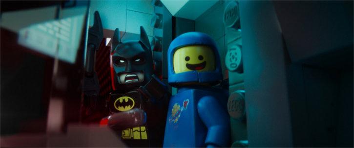 Batman et le Lego Cosmonaute s'allient pour sauver le monde Lego