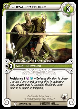 Chevalier Feuille - Wakfu TCG