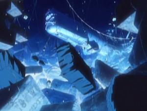 Dans Herlock Endless odyssey, l'Arcadia semble aussi animé par une énergie mystique