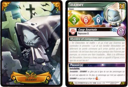 Carte de Srammy - Krosmaster