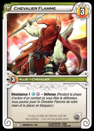 Chevalier Flamme - Wakfu TCG
