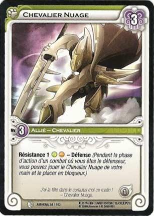 Chevalier Nuage - Wakfu TCG