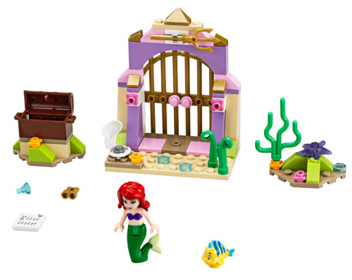 Photo du set Lego Princesse Disney 41050 : les trésors secrets de Lego
