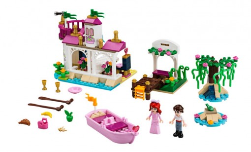 Photo du set Lego Princesse Disney 41052 : le baiser magique d'Ariel