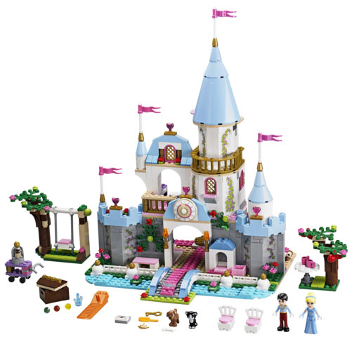 Photo du set Lego Princesse Disney 41055 : le château de Cendrillon