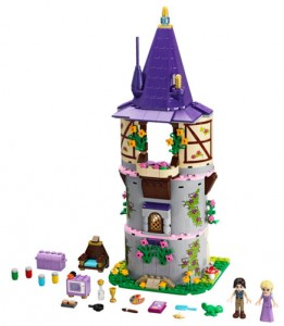 Photo du set Lego Princesse Disney 41054 : Raiponce - La tour