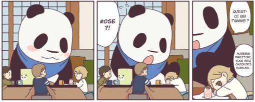 Rose est triste