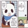 Rose et Pan'Pan Panda