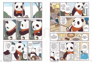 Page 1 et 2 du tome 2 de Pan'Pan Panda