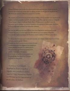 Présentation de la cabale dans le livre de Tyraël (Diablo)