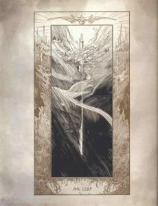 Illustration du monde des anges dans le livre de Tyraël (Diablo)