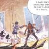 Après de fausses poursuites, Shiva combat finalement Xiong Mao dans les toilettes du lycée