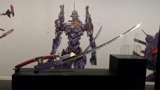 Arme inspirée par les films Evangelion