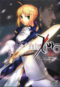 Couverture du tome 1 de Fate / Zero