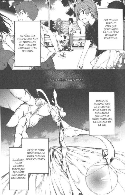 Page 3 du tome 1 de Fate / Zero