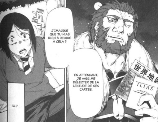 Rider est Alexandre le Grand dépeint comme un homme mature avec une barbe