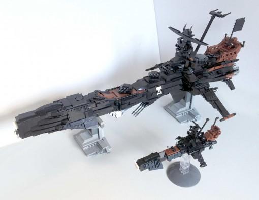 Comparaison des deux Arcadia LEGO