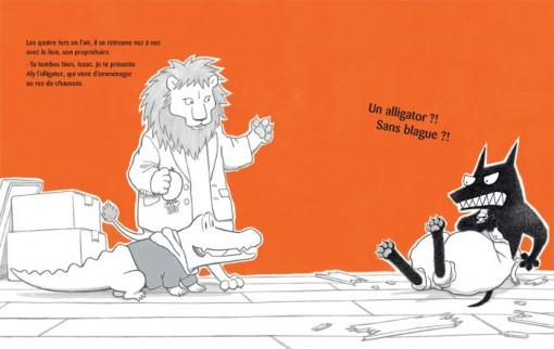 Page 7 du livrte Isaac l'affreux méchant loup [nobi nobi]
