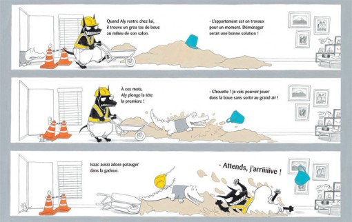 Page 11 du livrte Isaac l'affreux méchant loup [nobi nobi]