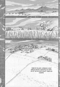 Page 1 du volume 1 du manga Spice & Wolf