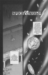 Page 1 du manga Spice & Wolf Tome 2