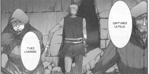 Yarei ordonne à ses hommes de tuer Lawrence et d'emprisonner Holo afin de donner l'avantage à la maison Médio