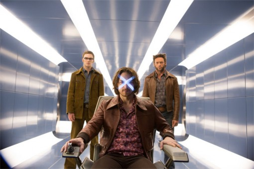 Professeur Xavier et Wolverine dans X-Men : Days of the future past