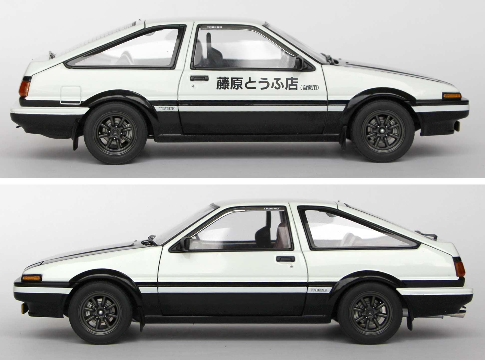 Toyota AE 86 - AUTOart - Initial D