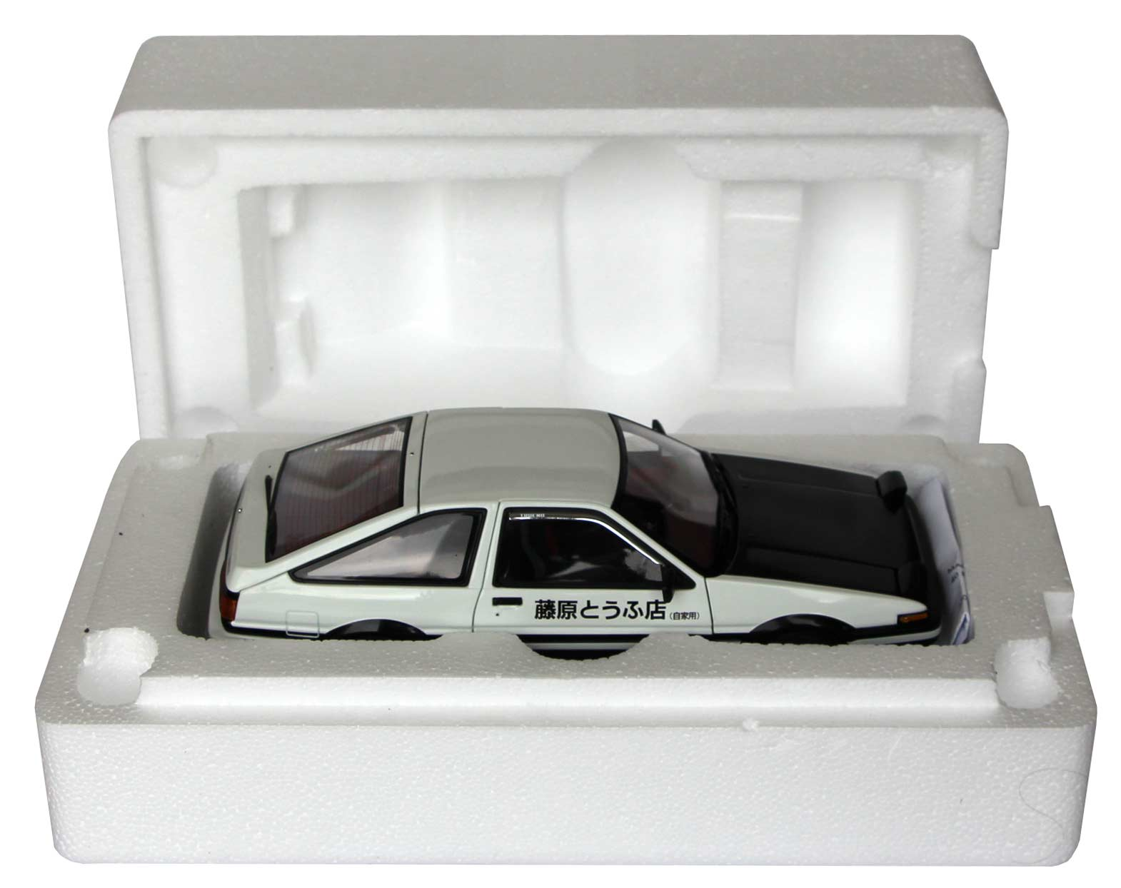 Toyota AE 86 - AUTOart - Initial D - packaging ouverture