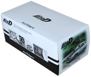 Toyota AE 86 - AUTOart - Initial D - packaging