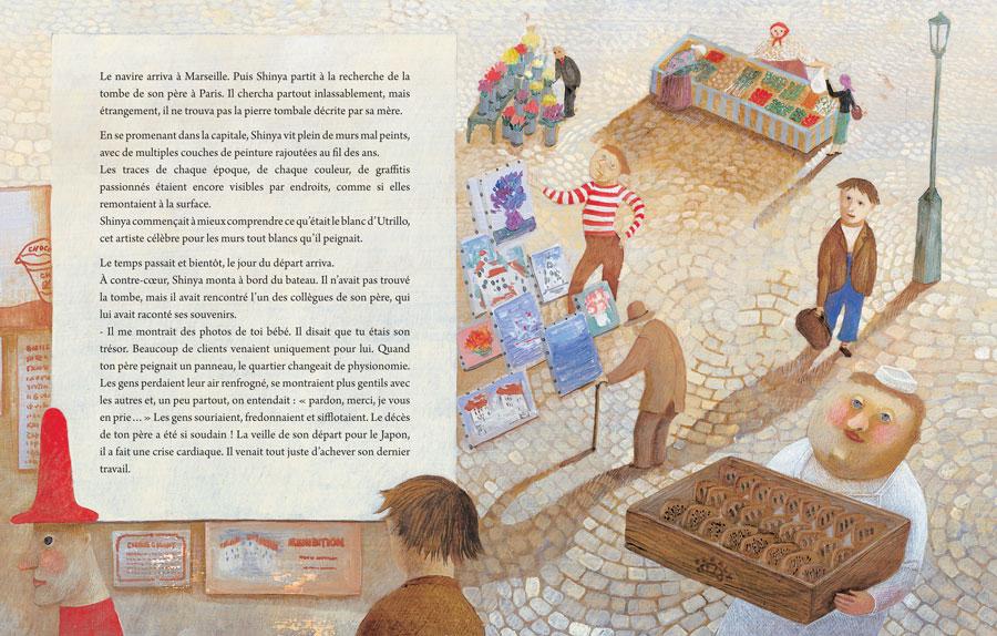Page 22 et 23 du livre Le peintre (nobi nobi !)