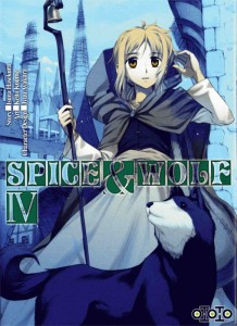 Couverture du manga Spice & Wolf Tome 4