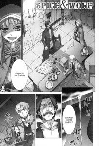Page 1 du manga Spice & Wolf Tome 4