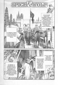 Page 1 du tome 5 du manga Spice & Wolf