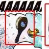 Folh-Klor utilise une brosse Hello Kitty