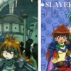Naga et Lina Inverse tiré de l'anime Slayers.