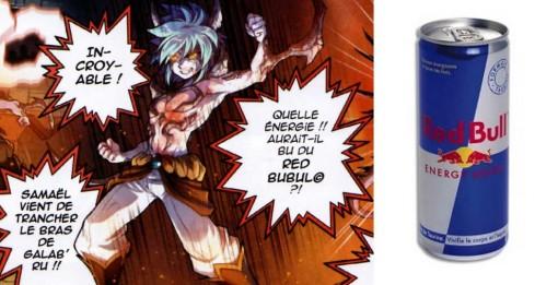 Red Bubul est une allusion à la boisson énergisante Red Bull
