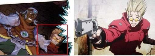 Vash the Stampede tiré de Trigun.